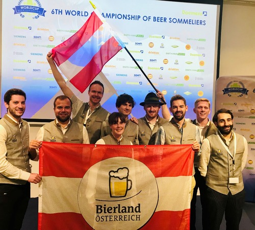 Biersommelier WM: Österreich knapp am Podest vorbei