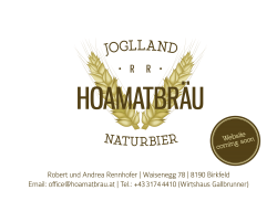 Joglland Hoamatbräu